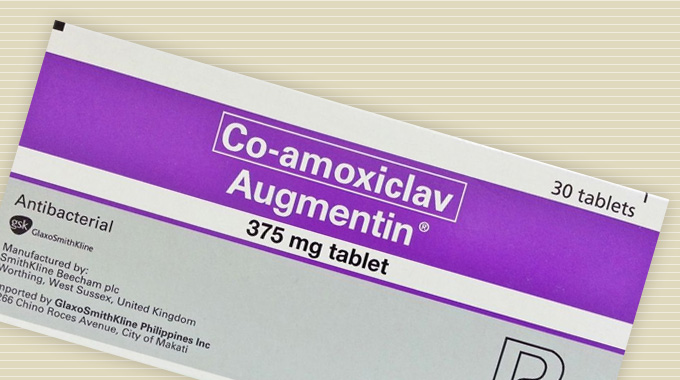 Augmentin (amoxicillin/clavulanate potassium) tablets