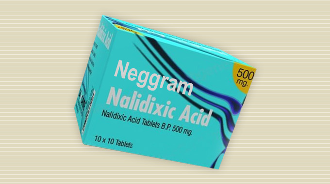 Neggram (nalidixic acid) tablets