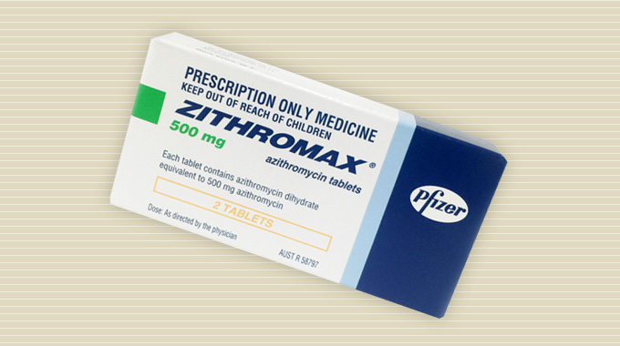 Zithromax (azithromycin) tablets